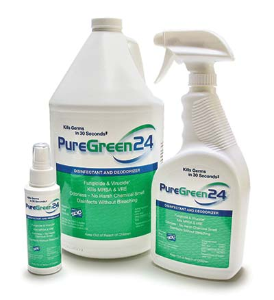 PureGreen24 bottle sizes